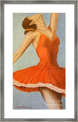 Dance Fever... Framed Print