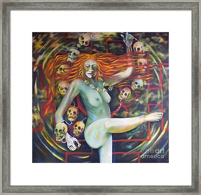Dance For Kali Framed Print