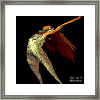 Dance Free Framed Print by Artist and Photographer Laura Wrede
