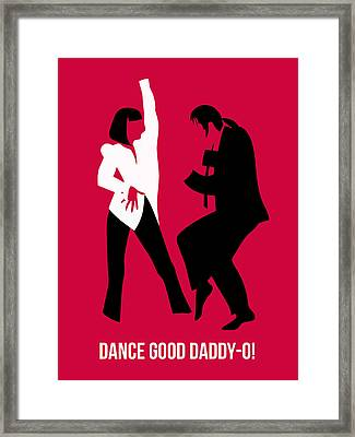 Dance Good Poster 2 Framed Print by Naxart Studio