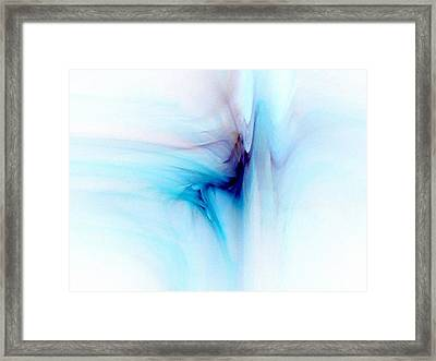 Dance In The Breeze Framed Print