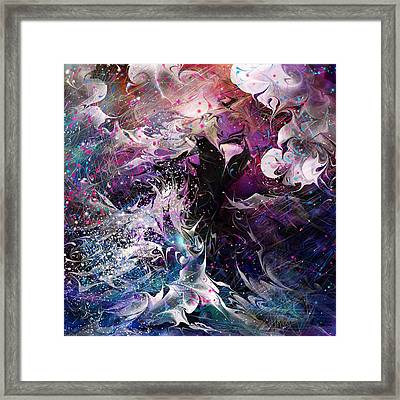 Dance In The Seas Framed Print