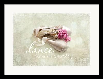 Dance Ballet Roses Photographs Framed Prints