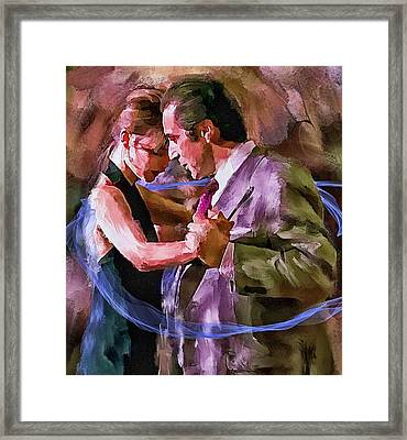 Dance Me To The End Of Love 1 Framed Print