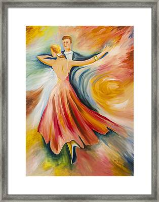 Dance Me To The End Of Time Framed Print by Music of the Heart