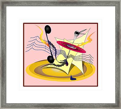 Dance Music Framed Print