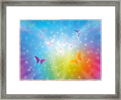 Dance Of Butterflies Framed Print