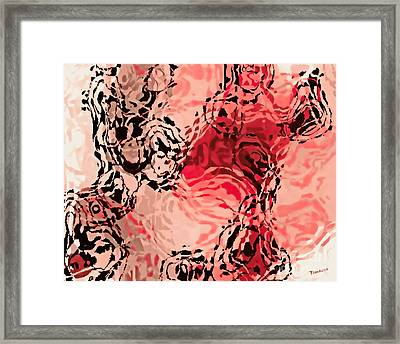 Dance Of Passion Framed Print by Tim Richards