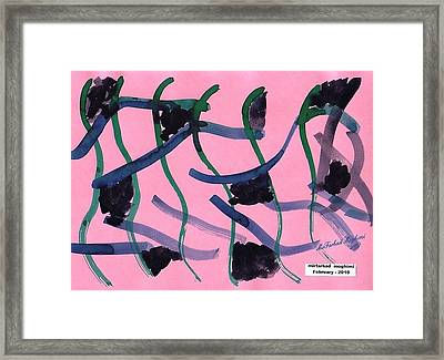 Dance Of Snakes 02 Framed Print by Mirfarhad Moghimi