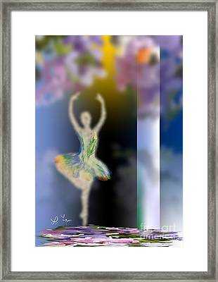 Dance Of Spring Framed Print