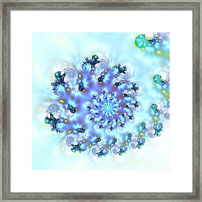 Dance Of The Baby Dragons Framed Print by Sharon Lisa Clarke