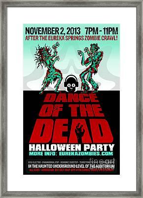 Dance Of The Dead Poster 2013 Framed Print