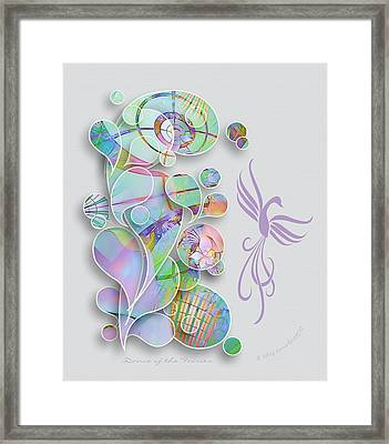 Dance Of The Fairies Framed Print by Gayle Odsather