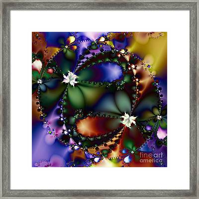 Dance Of The Gypsy Moths On A Moon Lit Night 20130510 Square Framed Print by Wingsdomain Art and Photography