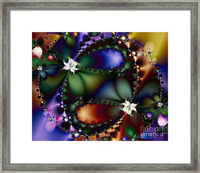 Dance Of The Gypsy Moths On A Moon Lit Night 20130510 Framed Print