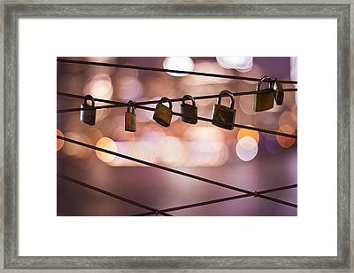 Dance Of The Searching Souls Framed Print by Evelina Kremsdorf