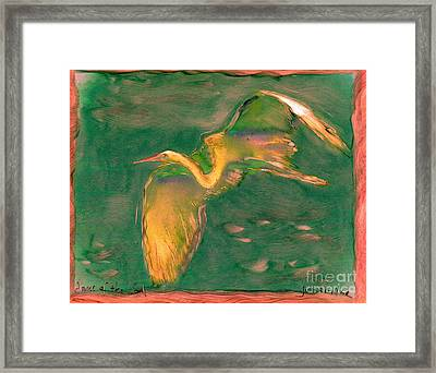Dance Of The Soul Framed Print by FeatherStone Studio Julie A Miller