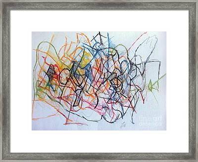 Dance Of The Spirit 1 Framed Print by David Baruch Wolk