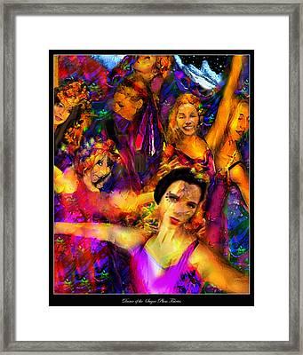 Dance Of The Sugar Plum Fairies Framed Print