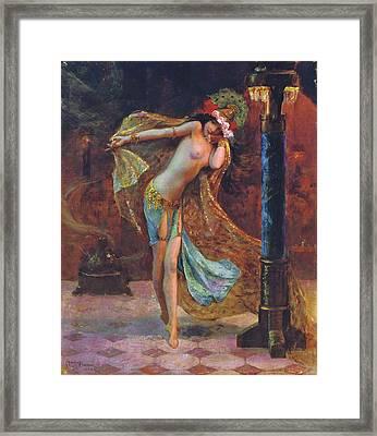 Dance Of The Veils Framed Print