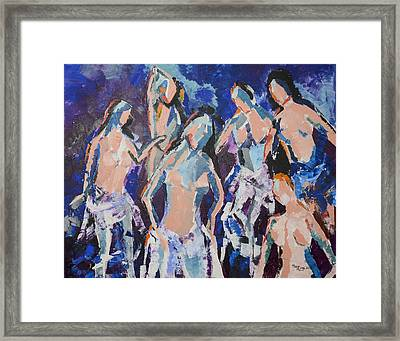 Dance Of The Witches Framed Print