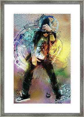 Dance R Die Framed Print