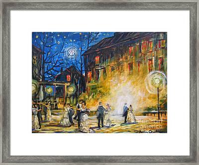 Dance The Night Away Framed Print