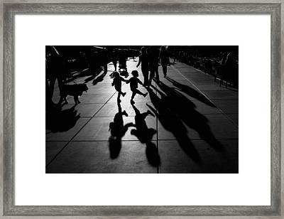Dance Framed Print