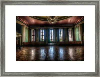 Dance Windows  Framed Print by Nathan Wright