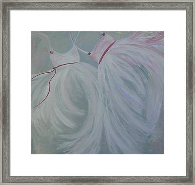 Dance With Me Framed Print by Tree Girly