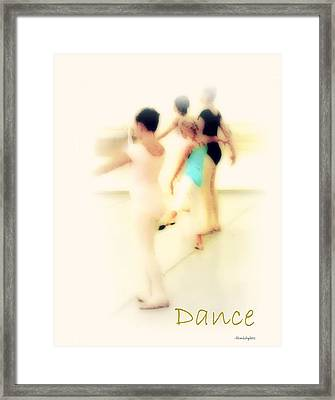 Dance Framed Print by YoMamaBird Rhonda