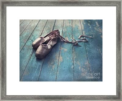 Danced Framed Print by Priska Wettstein