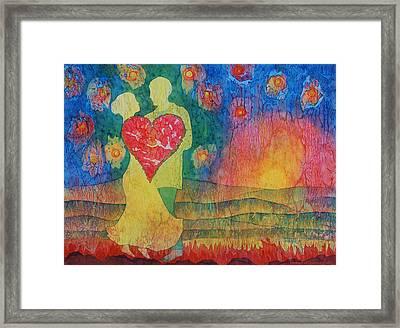 Danced Until Dawn Framed Print