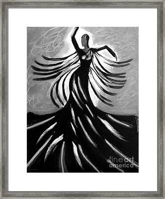 Dancer 2 Framed Print by Anita Lewis