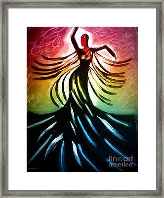 Dancer 3 Framed Print