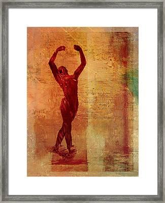 Dancer Framed Print by David Ridley