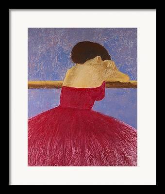 Ballet Dresse Framed Prints