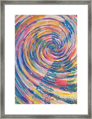 Dancer Framed Print by Jedidiah Morley