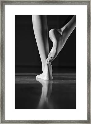 Dancer Framed Print by Laura Fasulo