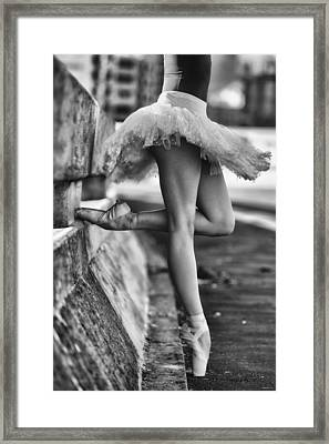 Dancer Framed Print by Michael Groenewald