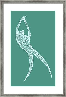 Dancer Framed Print by Michelle Calkins