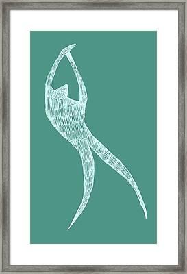 Dancer Framed Print by Michelle Calkins