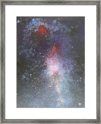 Dancer Framed Print by Min Zou