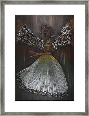 Dancer Framed Print by Nia Jacob