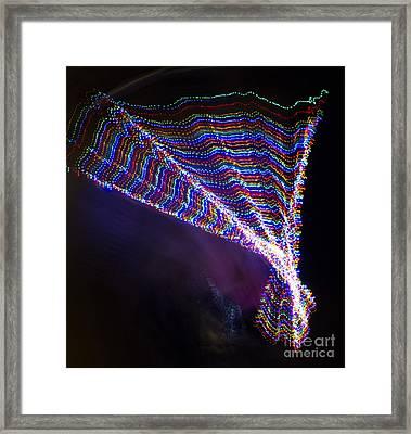 Dancer Of Light Framed Print