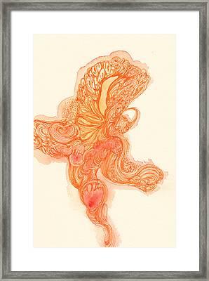 Dancer- #ss14dw010 Framed Print by Satomi Sugimoto