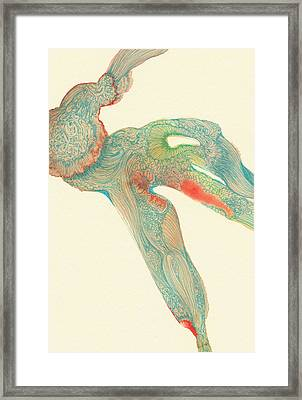 Dancer- #ss14dw015 Framed Print by Satomi Sugimoto