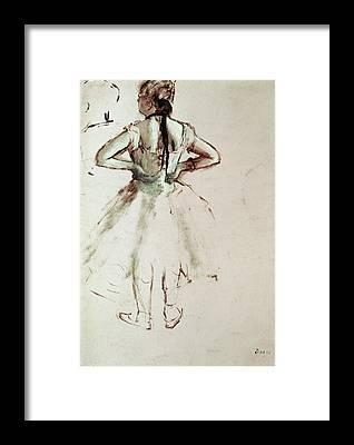 Edgar Degas Framed Prints