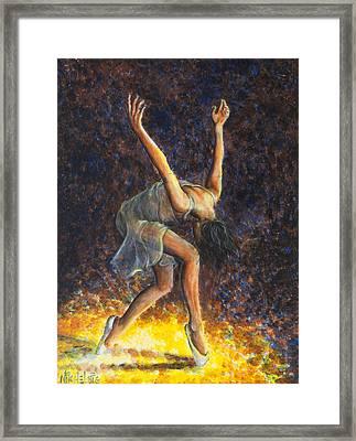 Dancer Viii Framed Print by Nik Helbig