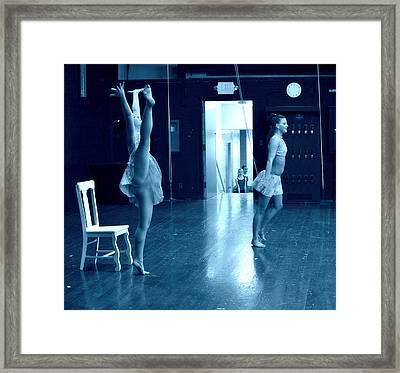 Dancers And Little Watchers Framed Print by Jon Van Gilder